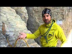 Tutorial Alpinismo 3° Capitolo - La calata in corda doppia - YouTube