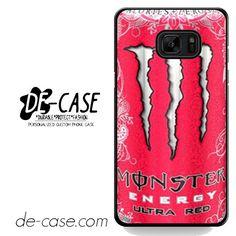 Monster Energy Drink Ultra Red DEAL-7387 Samsung Phonecase Cover For Samsung Galaxy Note 7