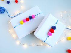 Gift Wrap inspiration on the #Creativebug blog #pompom