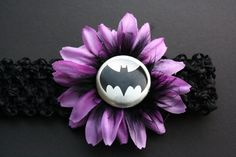 Batman Baby Headband by SoxandBean on Etsy. $7.00 USD, via Etsy.