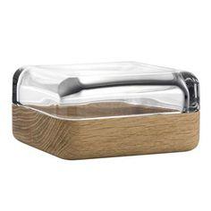 Iittala Vitriini Box 60mm x 60mm, glass and Oak. Thrifted one for 3.45 gwpa 5/11/17
