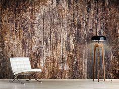 Foto #Tapete Retro-Holz