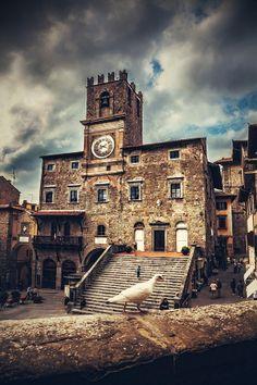 Cortona, Italy, province of Arezzo Tuscany