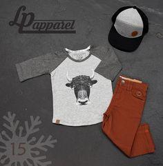 Caps: Orleans - Black & Grey / Jerseys: Yak / Pants: Skateboard - Pumpkin *L&P exclusive*
