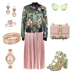 ShaïStyle by shaistyle on Polyvore featuring polyvore, fashion, style, Dsquared2, Topshop, Valentino, Michael Kors, Henri Bendel, Effy Jewelry and clothing