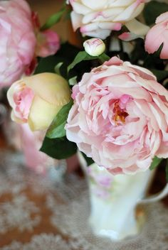 Pink Roses. Photography by jennelise2011, via Flickr.
