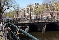 Amsterdã: caminhada pelos canais