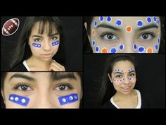 "Football Face Paint Ideas! - http://47beauty.com/football-face-paint-ideas/   				    Here are 2 different football face paint ideas for when you go to a high school football game, or any football game in general! I personally do these, and I get compliments on them, so I decided, why not show you guys? Music: ""Who I Want to Be"" – Technoaxe For business inquiries ONLY: yolandagyt@gmail.com My Links!  ACTING Channel: http://www.youtube.com/GigiActress FACEB"