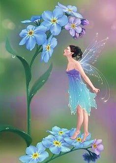 Las Hadas de Pachi. LOVE the fairy's dress!!!! :D :D :D I want to make it!!!!!!!!!!! I've had a similar design in mind for ages now!!!!! :D :D :D