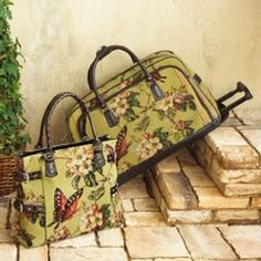 Pretty  Butterfly Luggage