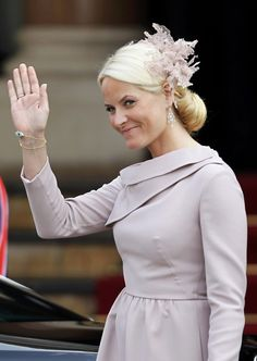 mette-marit of norway at the monégasque royal wedding, 7/2/11