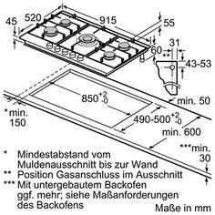 Siemens EC945RB91D iQ500 Kochfeld / Gas / 91.5 cm: Amazon.de: Elektro-Großgeräte