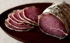 Bison Bresaola ... evidently this is an easy recipe to try as a first charcuterie to  try.