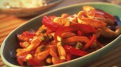 Fiddyment Farms Recipe: Oriental Pistachio Chicken Stir-Fry