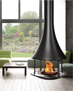 フードタイプ暖炉「ゼリア 908 センターモデル」