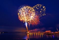 Fourth of July is celebrated for nearly a month on the East End. Fireworks shows begin June 27 and continue through July 19.