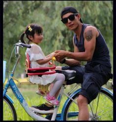 cadeirinha para bicicleta modelo infantil dianteira