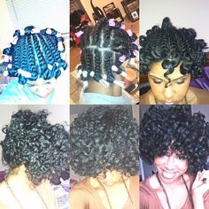 love this natural hair step by step tutorial. trying this once i take this weave out!