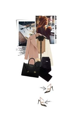 """""""11:59 p.m."""" by beingaries ❤ liked on Polyvore featuring Post-It, Rochas, Etro, sass & bide, Michael Kors and Valentino"""