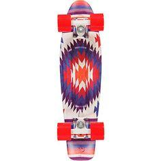 Penny Original Aztec Print 22 Cruiser Complete Skateboard   #zumiez