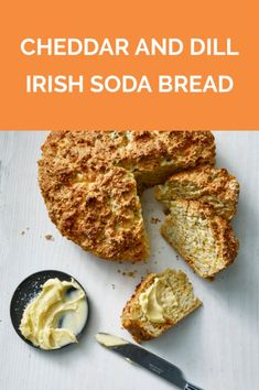 Cheddar and Dill Irish Soda Bread Quick Bread Recipes, Side Dish Recipes, Cooking Recipes, Irish Potato Bread, Irish Soda Bread Recipe, Irish Recipes, Bread Baking, So Little Time, Food To Make