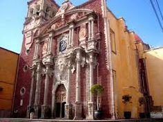 Catedral de San Felipe Neri en Querétaro, Querétaro, México.