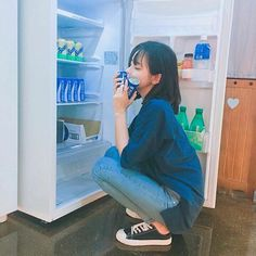 Discovered by lelavhui. Find images and videos about girl, hair and ulzzang on We Heart It - the app to get lost in what you love. Cute Korean Girl, Cute Asian Girls, Cute Girls, Ulzzang Fashion, Asian Fashion, Girl Fashion, Hwa Min, Uzzlang Girl, Girl Hair