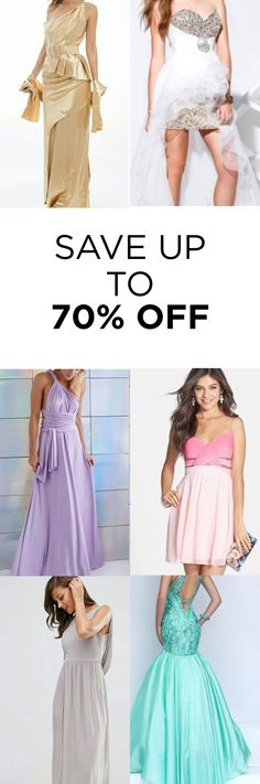 SALE happening now! Buy your dresses at Up to 70%! Click image to install the FREE app now. As featured in Cosmopolitan & Good Morning America.