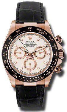 Rolex Daytona Everose Gold Leather116515LNI