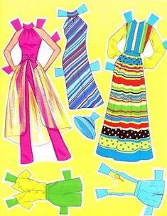 1981 PRETTY CHANGES BARBIE Paper Doll Book NEW Uncut Mattel: papercat - Picasa Web Albums by alissa