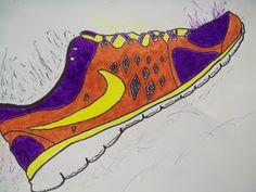 my artful nest: Sneaky Sneakers