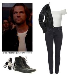 Sam Winchester - spn / supernatural by shadyannon on Polyvore featuring polyvore fashion style WithChic Aéropostale clothing