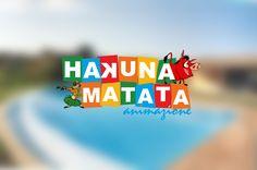 Progettazione del marchio Hakuna Matata Animazione, società di giovani animatori che si propone di allietare le feste ed intrattenere i bambini, con balli, giochi e molto altro.