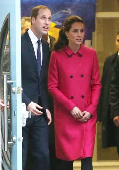 Prince William, Duke of Cambridge and Catherine, Duchess of Cambridge meet with people involved with CityKids during their visit to The Door on December 9, 2014 in New York City. The Door provides services to disadvantaged young people. The royal couple, who are traveling without their son Prince George, are on a three-day US east coast visit. This is the Duke and Duchess' first official visit to New York City.
