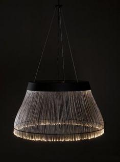 Black Fiber lamp from Refer + Staer » CONTEMPORIST