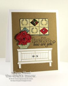 Handmade by G3: The Craft's Meow Blog Hop!