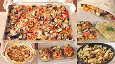 MIX DI VERDURE AL FORNO, UNA RICETTA PER MILLE PIATTI - FATTO IN CASA DA BENEDETTA   Fatto in casa da Benedetta Vegetable Salad, Vegetable Side Dishes, Vegetable Recipes, Roasted Vegetables, Veggies, Cooking Recipes, Healthy Recipes, Vegetarian Recipes Dinner, Fruit And Veg