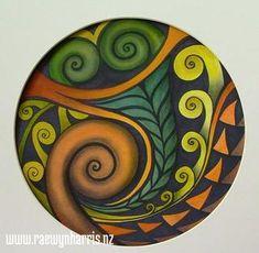Heritage by Raewyn Harris Maori Designs, Samoan Designs, Maori Symbols, Kunst Der Aborigines, Maori Patterns, Zealand Tattoo, Polynesian Art, New Zealand Art, Nz Art