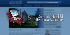 TTG helped Chestnut Hill Benevolent Association create a user friendly website that was easy to navigate. Chestnut Hill, Web Design Projects, Small Business Marketing, Website, Create, Easy