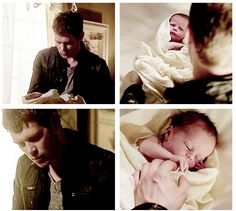the originals - Klaus and Hope 1x22 From Cradle to Grave