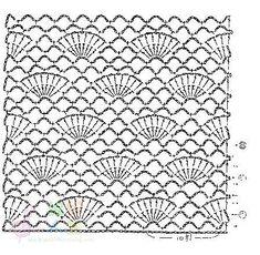 meus hobbies :) eu amo crochet¡¡¡¡: fãs lenço com crochet padrão