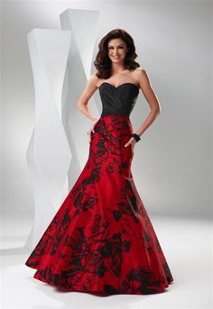 2011 Flirt Prom Dress P1520
