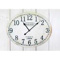 Oválné nástěnné hodiny Grand Hotel, Clock, Home Decor, Watch, Decoration Home, Room Decor, Clocks, Home Interior Design, Home Decoration