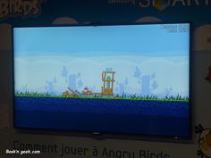 Angry birds by Samsung