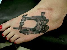 Sewing machine Tattoo