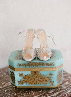 Vintage Shoe Display