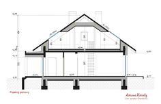Projekt domu Zacisze IV 107.48 m² - Domowe Klimaty House Design, New Houses, Log Projects, Architecture Design, House Plans, Home Design, Design Homes