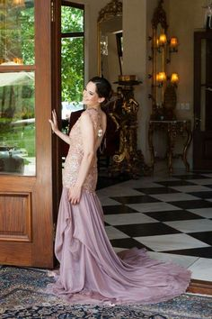 Styled shoot with LittlePinkBook with Rene H Couture dress