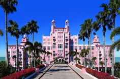 The Don is an iconic, Fabulous place to stay, or at least it was the last time I was there Loews Don CeSar Hotel: On St. Pete Beach, Loews Don CeSar Hotel has a historic facade but a laidback vibe. Florida Hotels, Beach Hotels, Florida Beaches, Hotels And Resorts, Honeymoon Hotels, Pink Hotel, Madeira Beach, St Petersburg Florida, Saint Petersburg