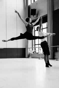 Artem Ovcharenko and Olga Smirnova rehearse Romeo and Juliet at Les Ballets de Montecarlo